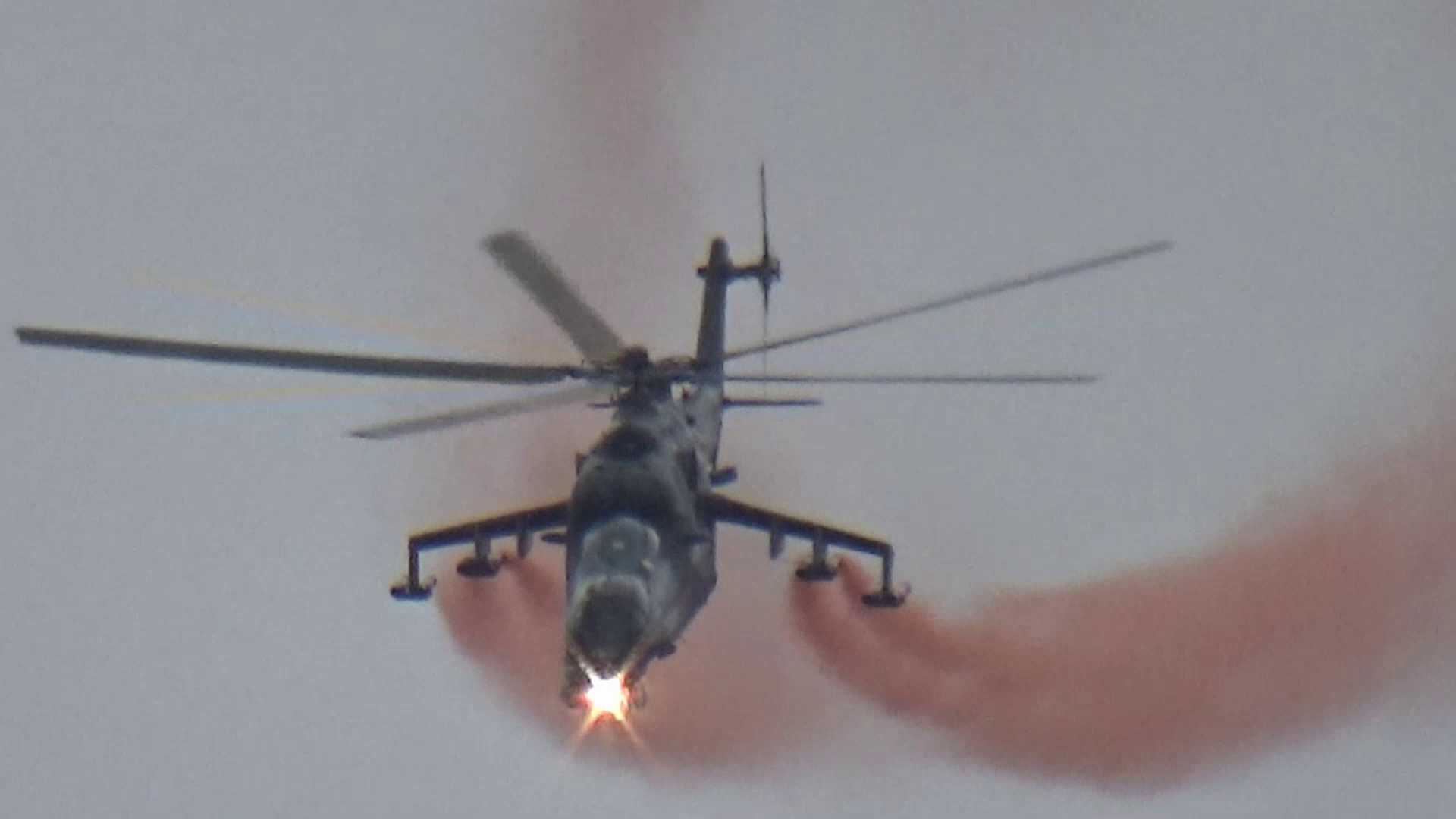 Mil Mi-24 Hind Czech Air Force Display at AirShow 2018 Radom